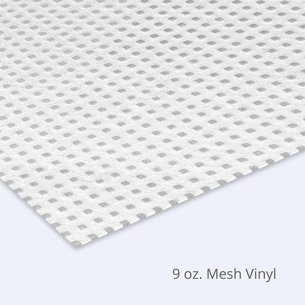 vinyl banner subtrates texture