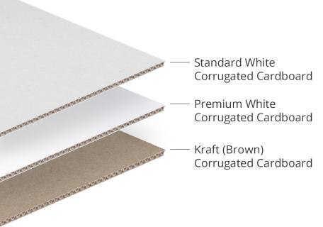 Print Custom Mailer Boxes - Corrugated Cardboard or